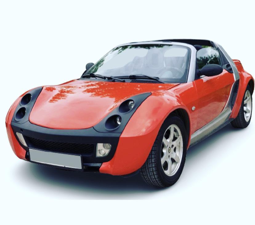 Аренда, прокат авто в Киеве Smart Roadster